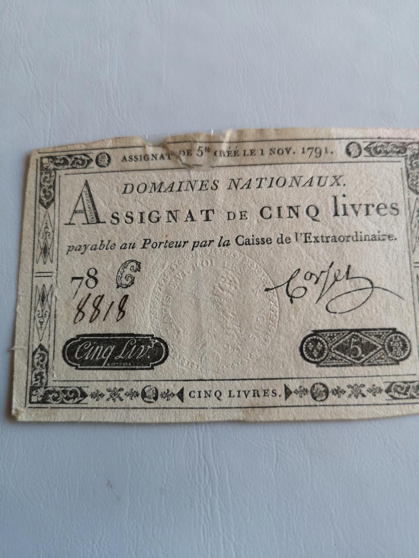 5 livres Francia 1791 16012812