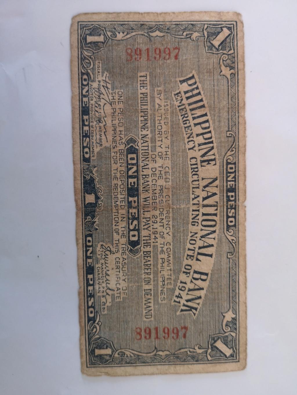 1 peso Filipinas 1941 16018810