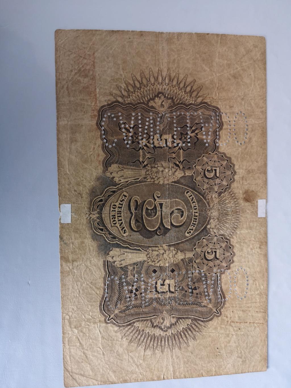 5 Libras Esterlinas Ouro 1919 Mozambique (Banco da Beira) 16038812