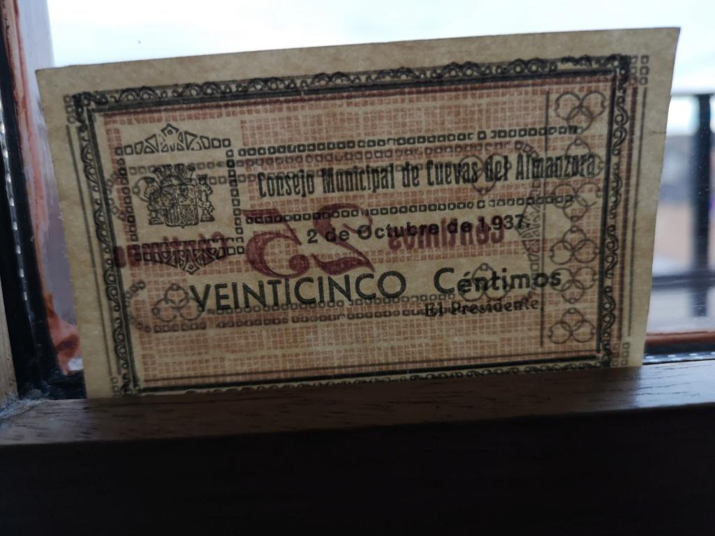 25 céntimos Cuevas de Almanzora  16072614