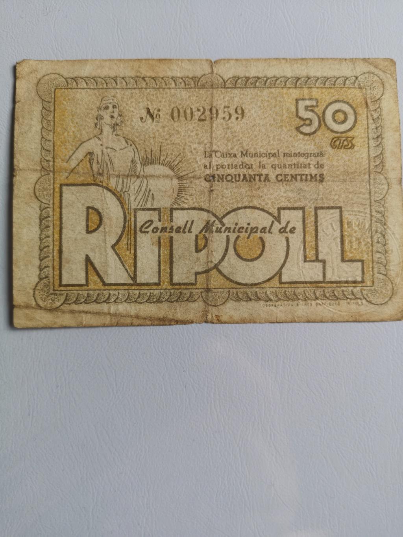 50 Céntimos de Ripoll 16075910