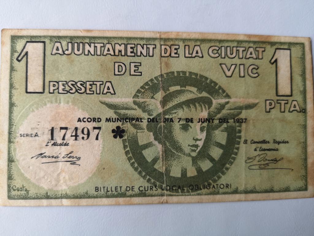 1 Peseta Vic 1937 16110510