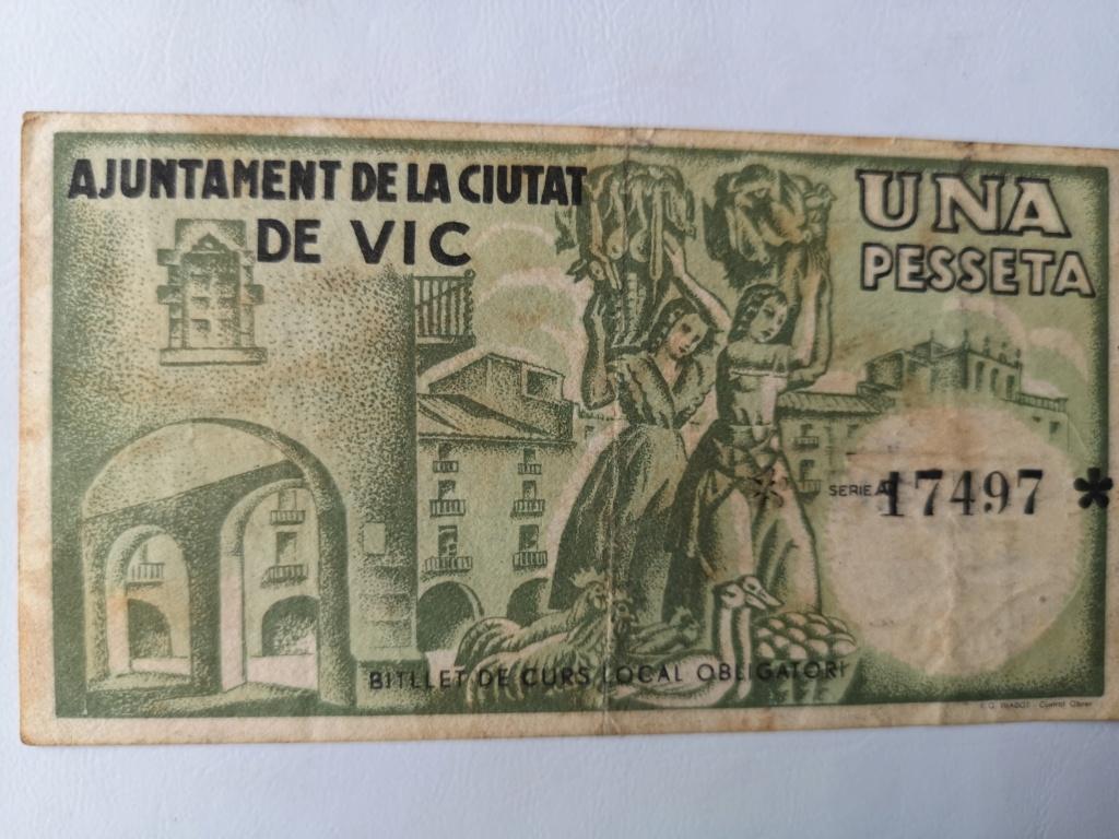 1 Peseta Vic 1937 16110512