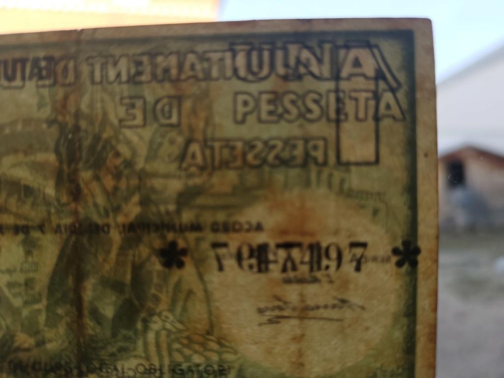 1 Peseta Vic 1937 16112110