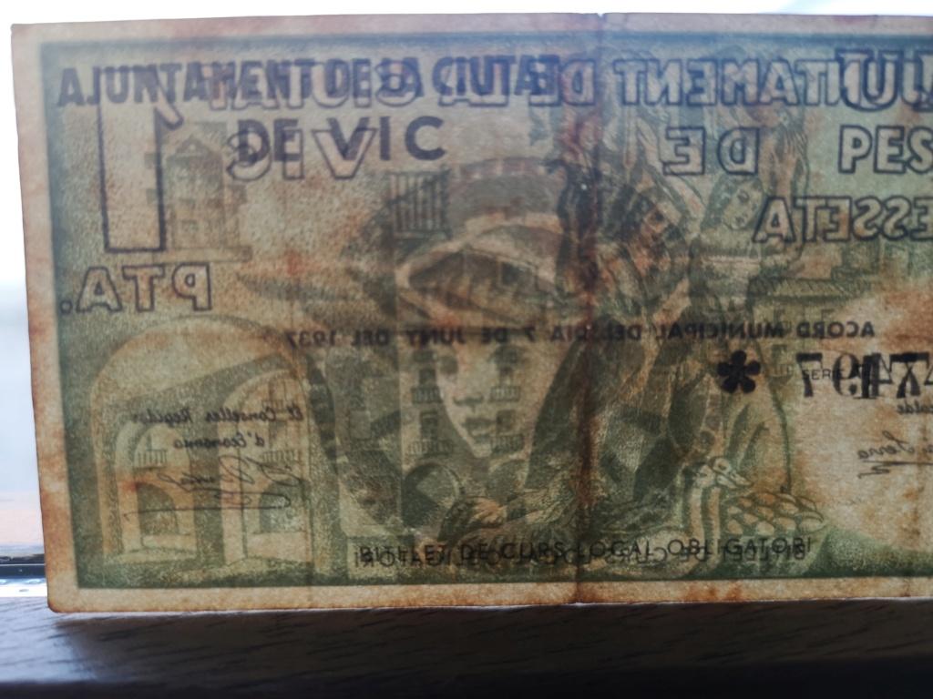 1 Peseta Vic 1937 16112111
