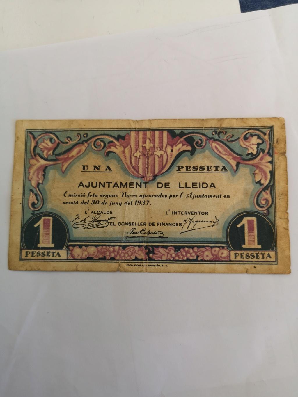 1 peseta de Lleida, 1937 16129510