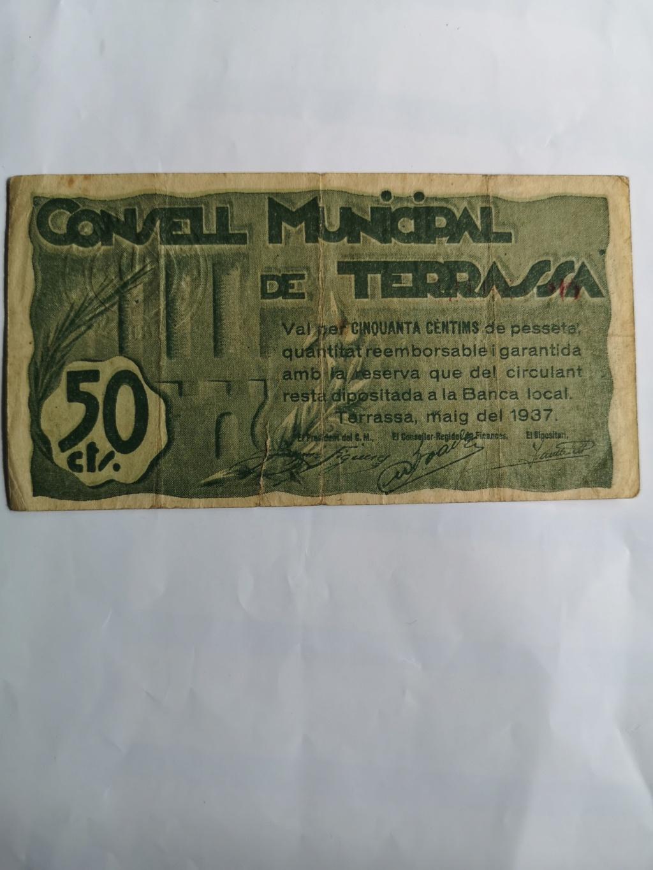 50 Céntimos Terrassa, 1937 16141610