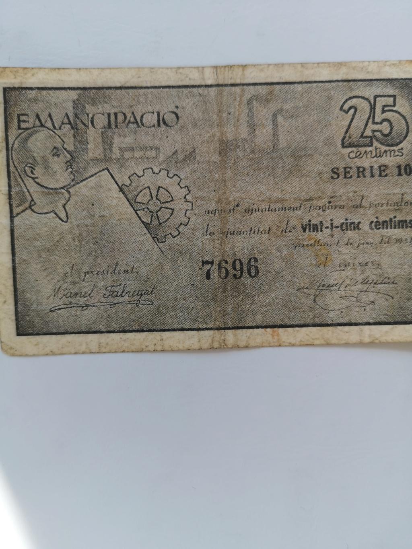 25 Ctms de Granollers, 1937  16162313