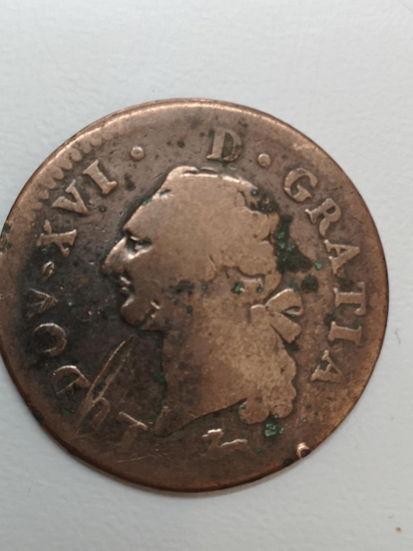 Francia 1787 1 Sol de Luís XVI  16173510