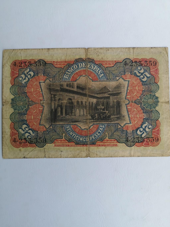 25 pesetas 1907 16182111