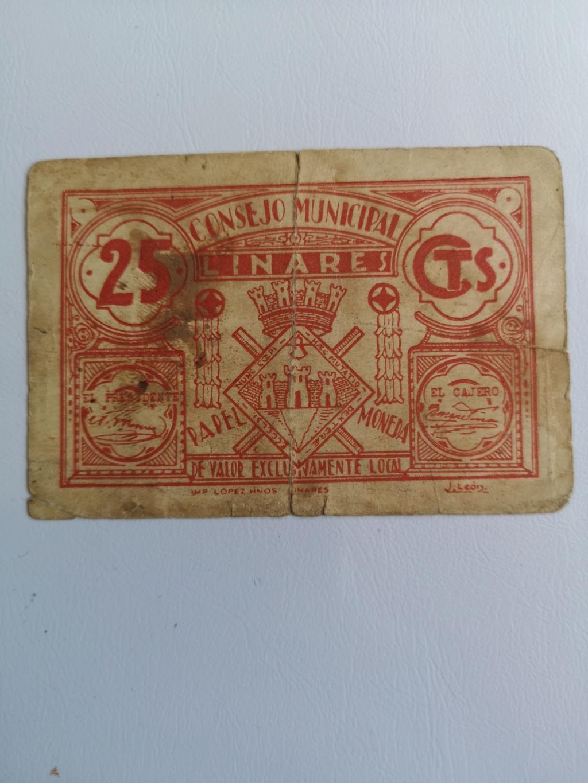 25 Céntimos Linares, 1937/38 16189312