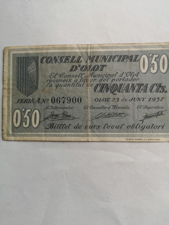 50 Céntimos Olot, 1937 16233410