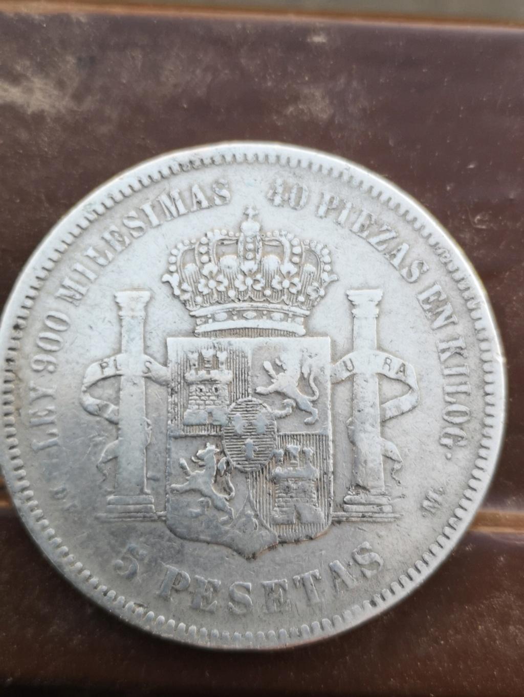 5 pesetas de 1875 16317911