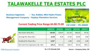 TALAWAKELLE TEA ESTATES PLC  (TPL.N0000) - Page 2 12208311