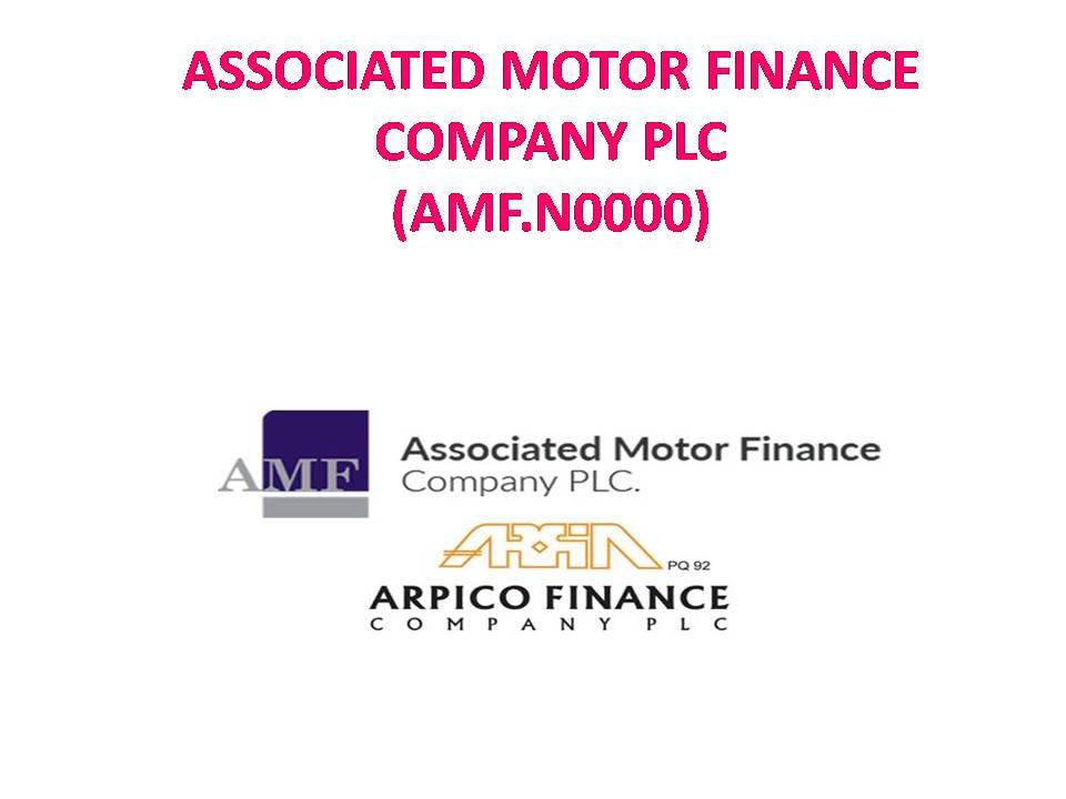ASSOCIATED MOTOR FINANCE COMPANY PLC (AMF.N0000) - Page 3 Slide111