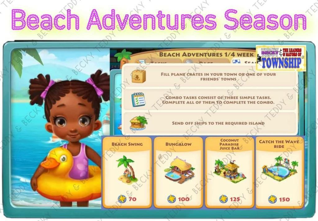 Beach Adventures (July 27 ~ August 24, 2021) Bs10
