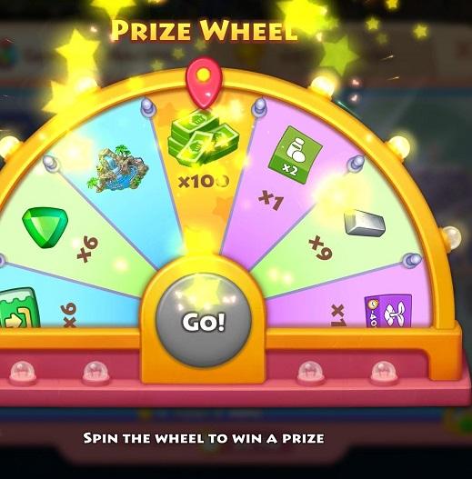 Prize Wheel Iz1srs10