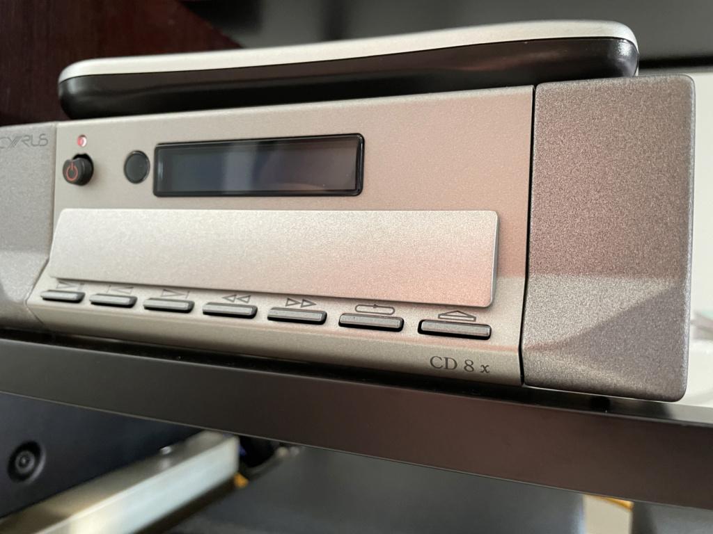 Cyrus CD8x CD Player Img_5111