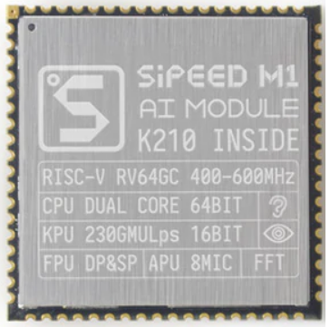Kendryte K210 достойный микроконтроллер с ИИ K21010