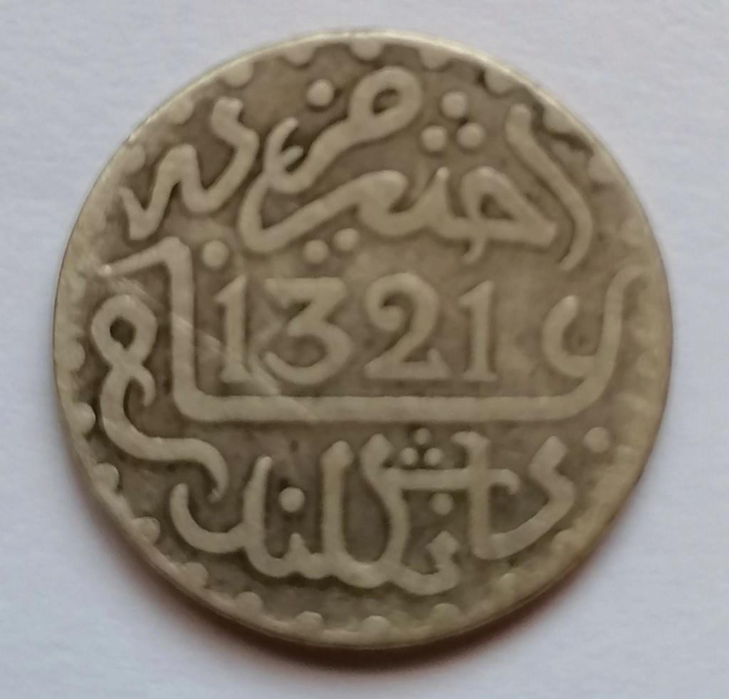 1 dirham 1321 (1903) Marruecos 1_dirh10