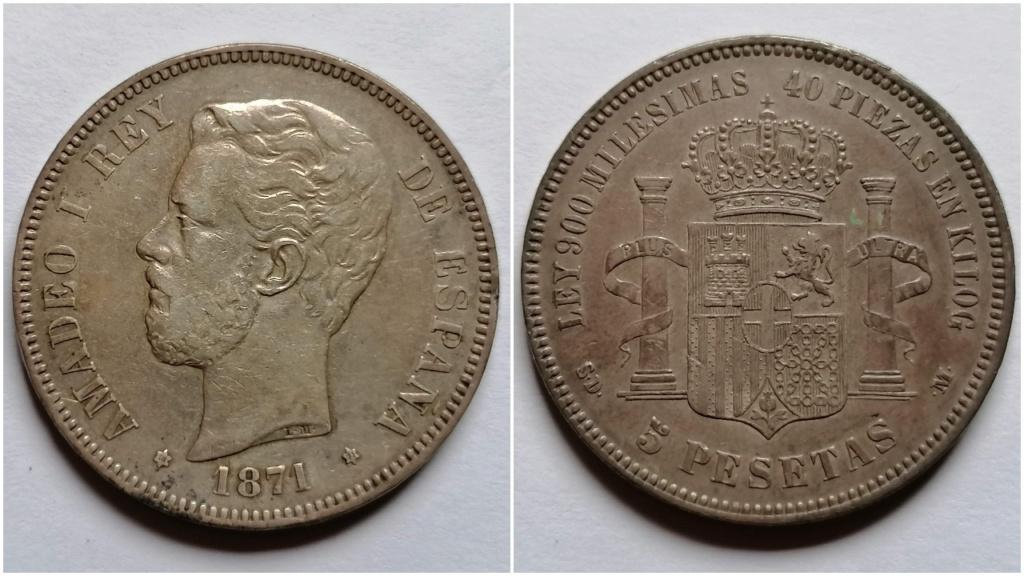 5 Pesetas Amadeo 1871 *71 SDM 5_pese10