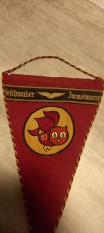 Fanion allemand Ag 51 immelman 16139311