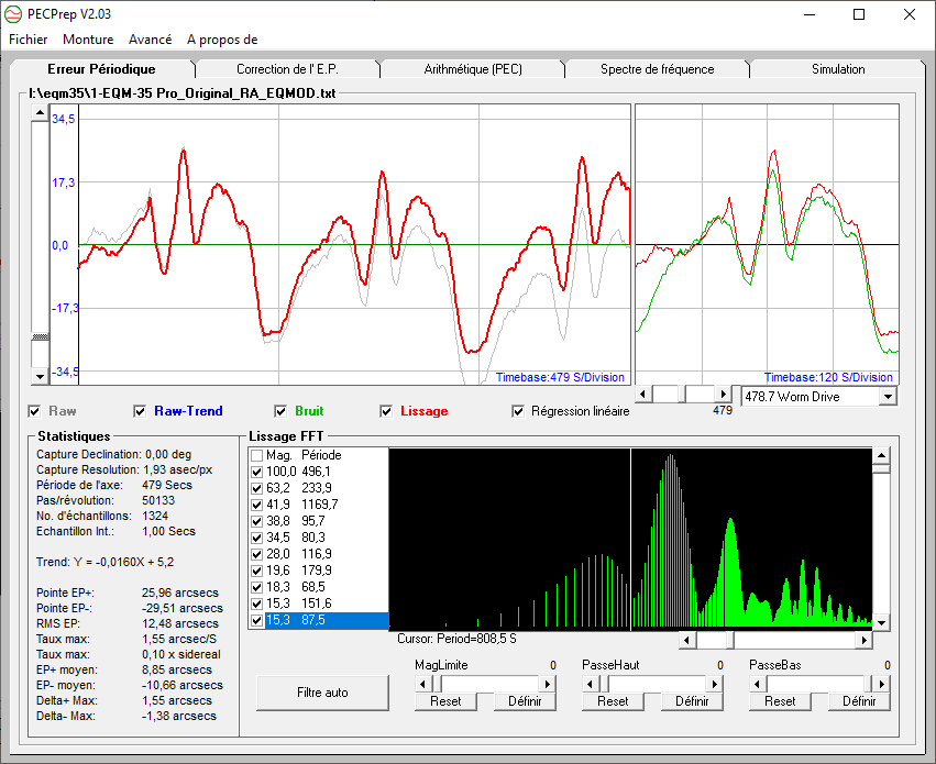 Tests et Upgrade d'une EQM35 Pro 15185710