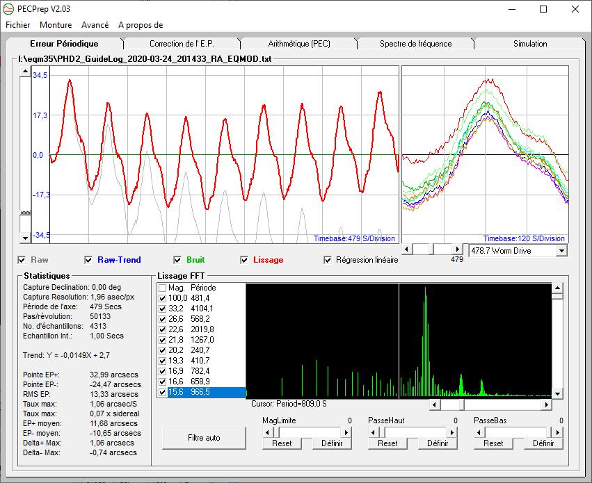 Tests et Upgrade d'une EQM35 Pro 50757210