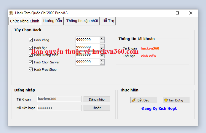 Download hack Tam Quốc Chí mobile Tamquo12