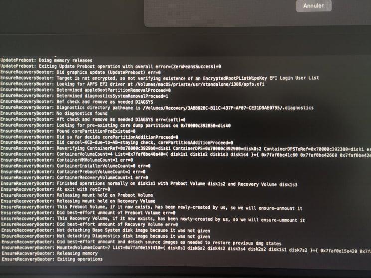 Probléme installation Big Sur (i5-9600KF   Asus TUF Z390-plus gaming   RTX 2070) 24082310