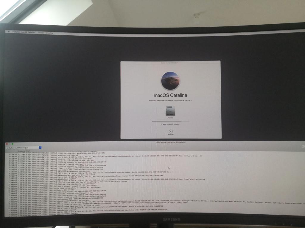 Probléme installation Big Sur (i5-9600KF   Asus TUF Z390-plus gaming   RTX 2070) Img_2011