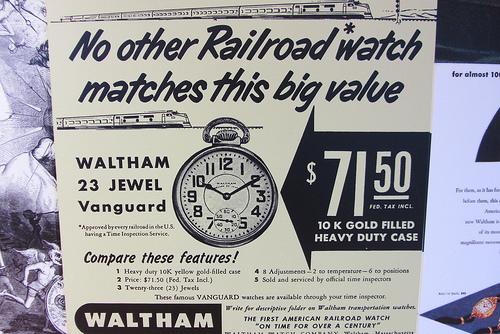 L'histoire des manufactures américaines ...A la conquête de l'Ouest Horloger 64316210