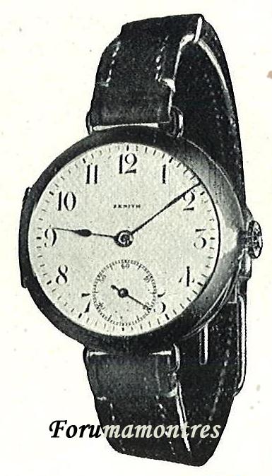 Zenith et les poilus ... Les toutes premières montres bracelets de Zenith Bracel10