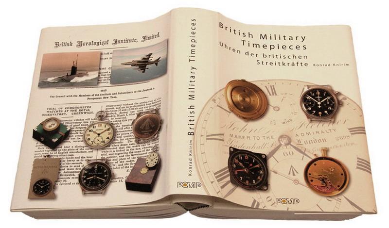 Les livres de référence sur les montres militaires - Les livres de Konrad Knirim Buch-110