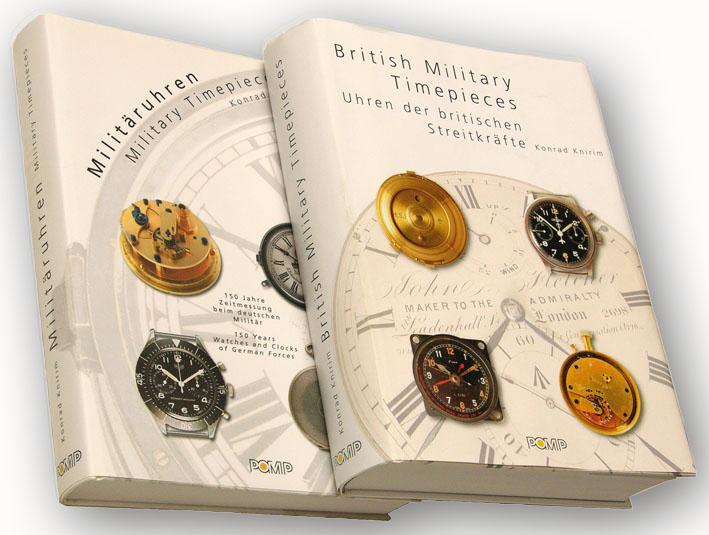 Les livres de référence sur les montres militaires - Les livres de Konrad Knirim Buch-210