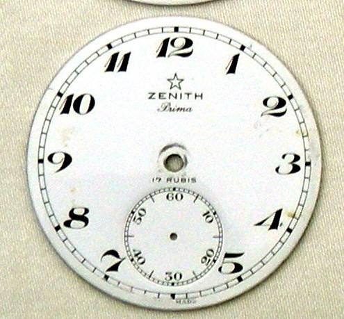 Mouvements Extra-Prima, Prima et Superior chez Zenith ... Cadran11