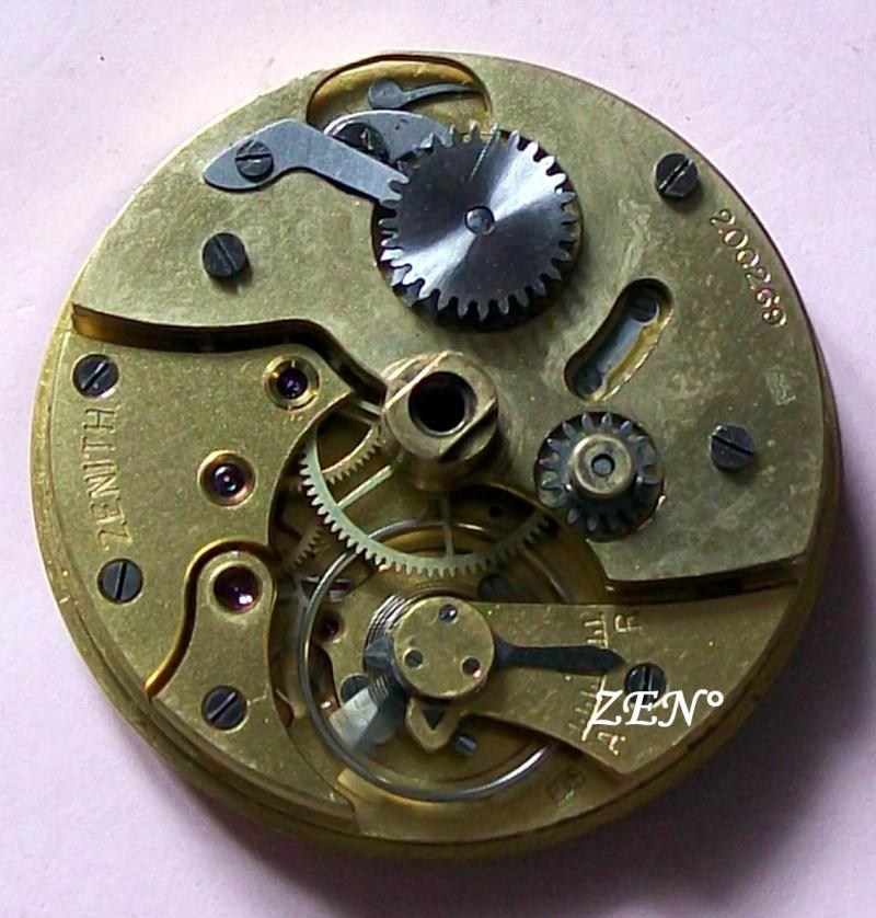 Démontage de la montre militaire Zenith Type B  Calibr24