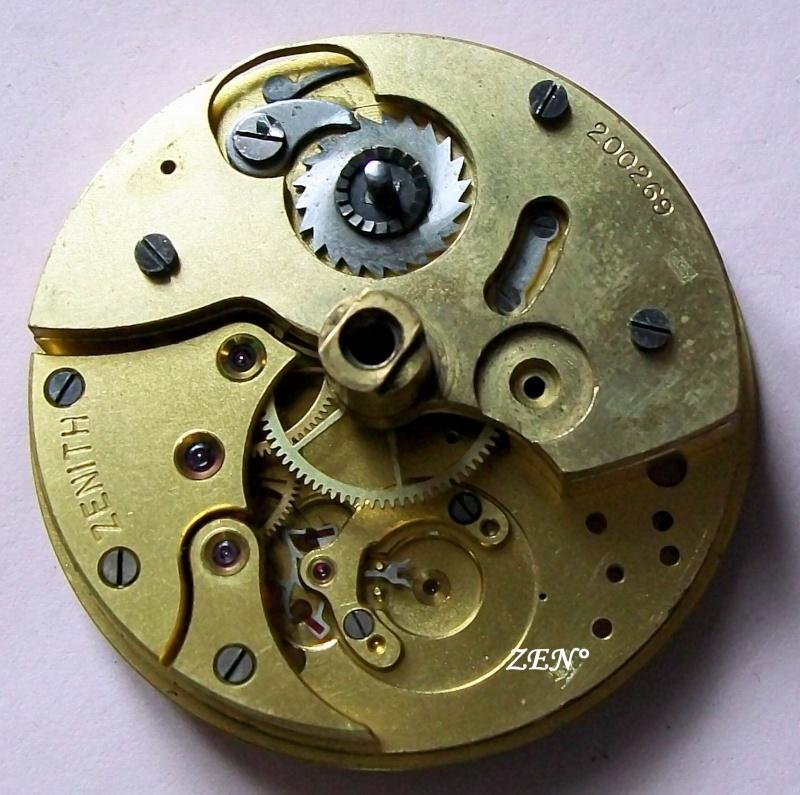 Démontage de la montre militaire Zenith Type B  Calibr25