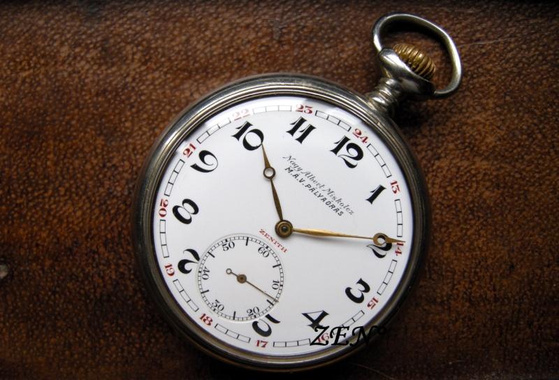 La montre Zenith de la compagnie des Chemins de fer Hongrois  Chemin14