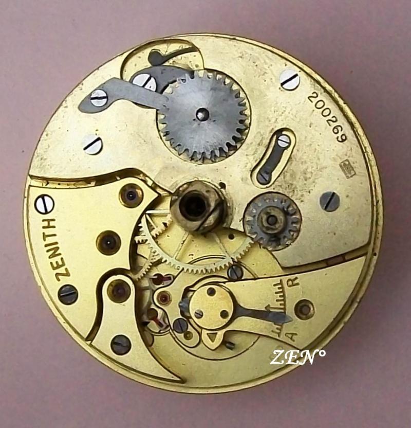 Démontage de la montre militaire Zenith Type B  Damont10