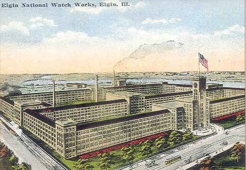 L'histoire des manufactures américaines ...A la conquête de l'Ouest Horloger Elgin_31
