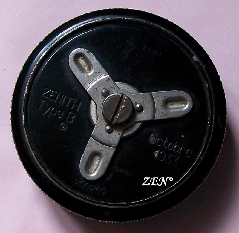 Démontage de la montre militaire Zenith Type B  Fond_110