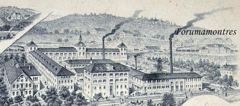 Etonnant : la manufacture Zenith il y a 120 ans ... Manufa15