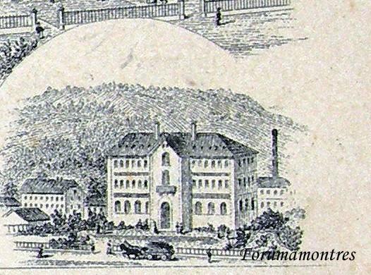 Etonnant : la manufacture Zenith il y a 120 ans ... Manufa17