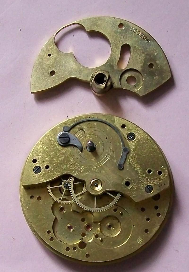 Démontage de la montre militaire Zenith Type B  Platin10