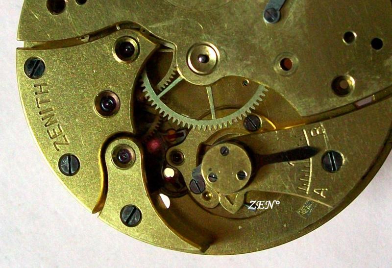 Démontage de la montre militaire Zenith Type B  Pont_b10