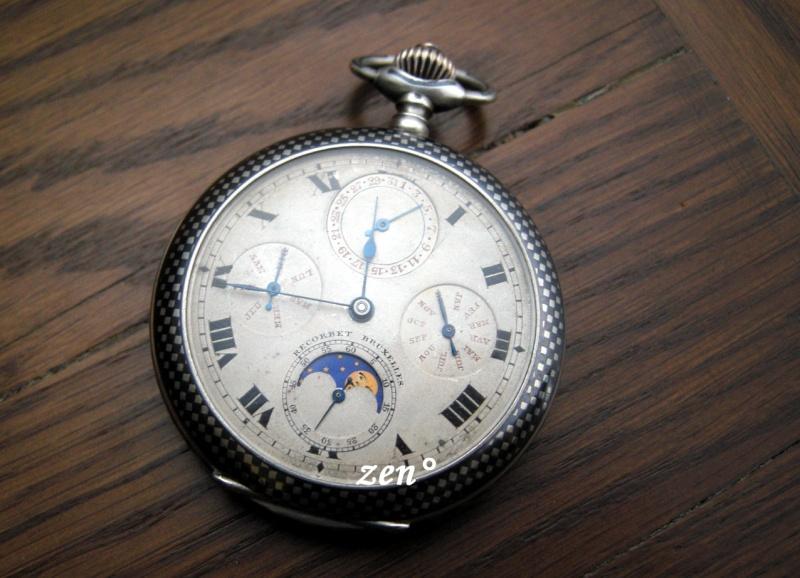 Je suis tombé en extase devant cette montre qui vient de Belgique ...  Triple10