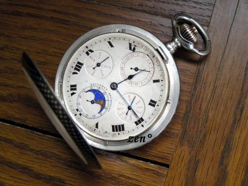 Je suis tombé en extase devant cette montre qui vient de Belgique ...  Triple11