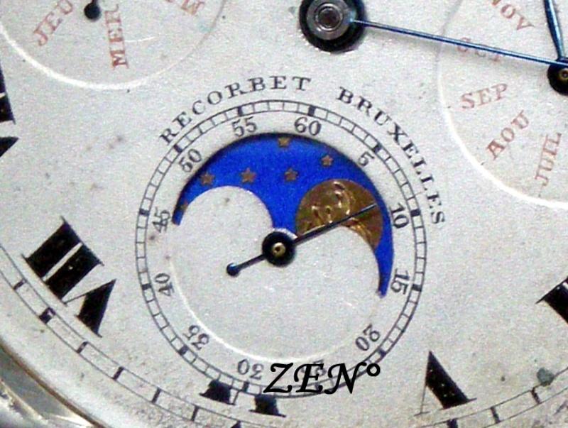 Je suis tombé en extase devant cette montre qui vient de Belgique ...  Triple12