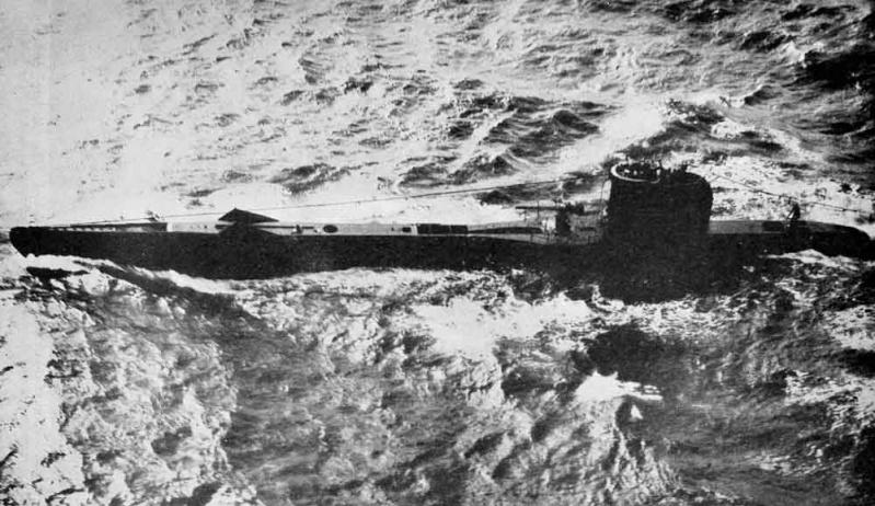 Une montre d'observation des sous-marins de la Navy Britannique U-clas10